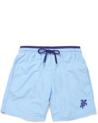 Light Blue Swim Shorts