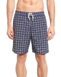 Lacoste Houndstooth Swim Trunks