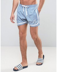 Calvin Klein Id Ck Nyc Retro Tailored Swim Shorts