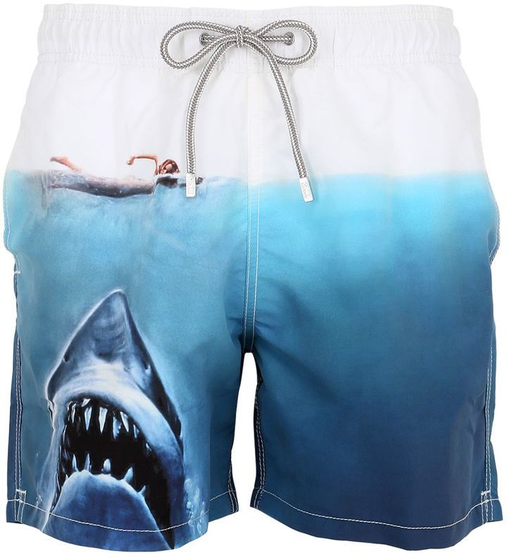 d18e961405 MC2 Saint Barth Barbados Jaws Swim Shorts, $138 | LUISAVIAROMA ...