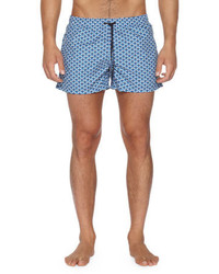 Fendi Monster Eye Swim Trunks Blue