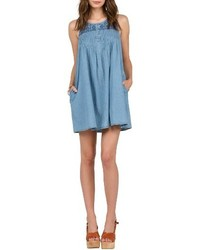 Volcom Chambray Swing Dress