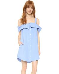 Off the shoulder shirtdress medium 704102