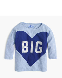 J.Crew Girls Big Heart T Shirt
