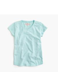 J.Crew Girls Supersoft V Neck T Shirt