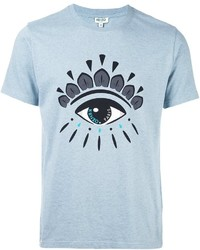 80c2db6130ca Men's Light Blue T-shirts by Kenzo | Men's Fashion | Lookastic.com