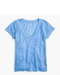 J.Crew New Linen T Shirt