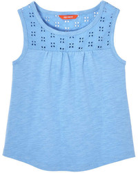 Joe Fresh Kid Girls Eyelet Tank Pink