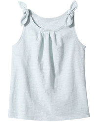 Joe Fresh Toddler Girls Tie Shoulder Tank White