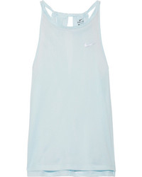 Nike Breathe Stretch Mesh Tank Sky Blue
