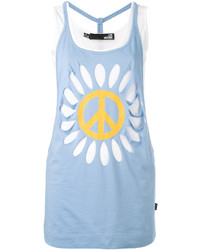 Love Moschino Flower Power Tank Top