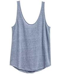 H&M Linen Jersey Tank Top