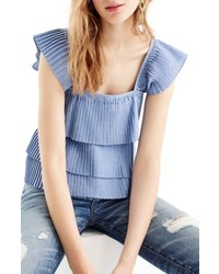 J.Crew Pleat Tank Top