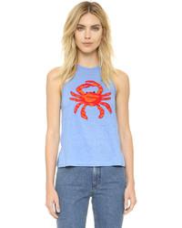 Tory Burch Crab Tank Top