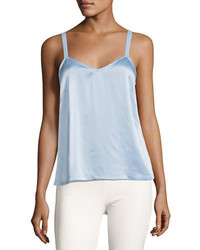Vince Wide Strap Satin Camisole Top