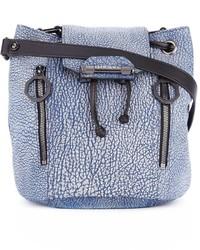 Diesel Textured Bucket Shoulder Bag