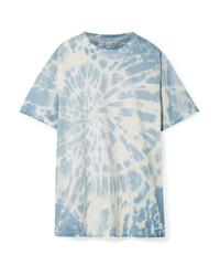 Stella McCartney Oversized Tie Dye Cotton Jersey T Shirt