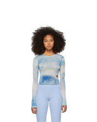 Acne Studios Blue Estah Long Sleeve T Shirt