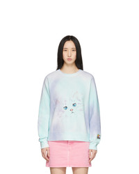 Marc Jacobs Purple And Multicolor The Airbrushed Sweatshirt