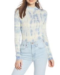 Something Navy Mock Neck Sweater