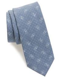 Shop bicycle dot cotton tie medium 3991719