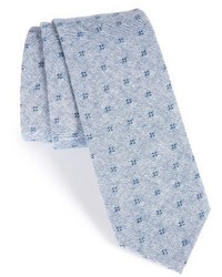 Nordstrom Shop Dot Cotton Skinny Tie