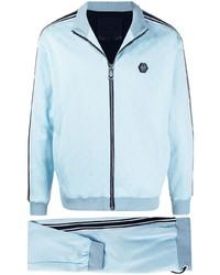 Light Blue Track Suit