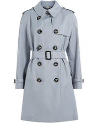 Light Blue Trenchcoat