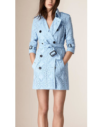 buy online f4b43 33a57 Light Blue Trenchcoats for Women | Women's Fashion ...