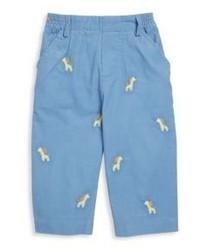 Florence Eiseman Babys Embroidered Corduroy Pants