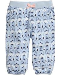 H&M Patterned Jersey Pants Light Blue Kids