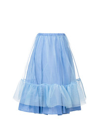 Ermanno Scervino High Waisted Tulle Skirt