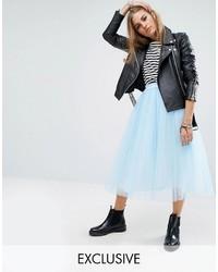 Reclaimed Vintage Tulle Midi Skirt