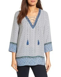 NYDJ Lace Up Tunic