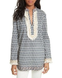 Tory Burch Tory Embellished Tunic