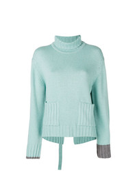 Eudon Choi Deconstructed Roll Neck Sweater