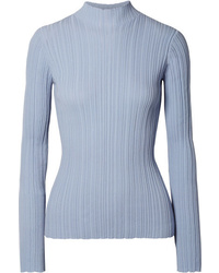 Acne Studios Kana Ribbed Cotton Blend Sweater