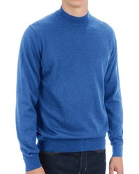 Toscano Mock Turtleneck Sweater Italian Merino Wool | Where to buy ...