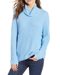 Chelsea28 Stitch Interest Turtleneck Sweater
