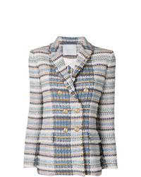 Giada Benincasa Tweed Blazer