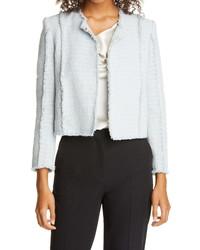 BOSS Johellana Crop Tweed Jacket