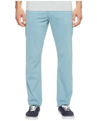 AG Adriano Goldschmied Graduate Tailored Leg Twill In Yacht Blue Casual Pants