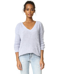 Women's Light Blue V-neck Sweaters by BB Dakota | Women's Fashion
