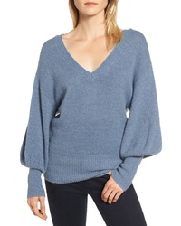 MICHAEL Michael Kors Blouson Sleeve Sweater