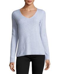 Cashmere collection cashmere v neck sweater medium 4948536