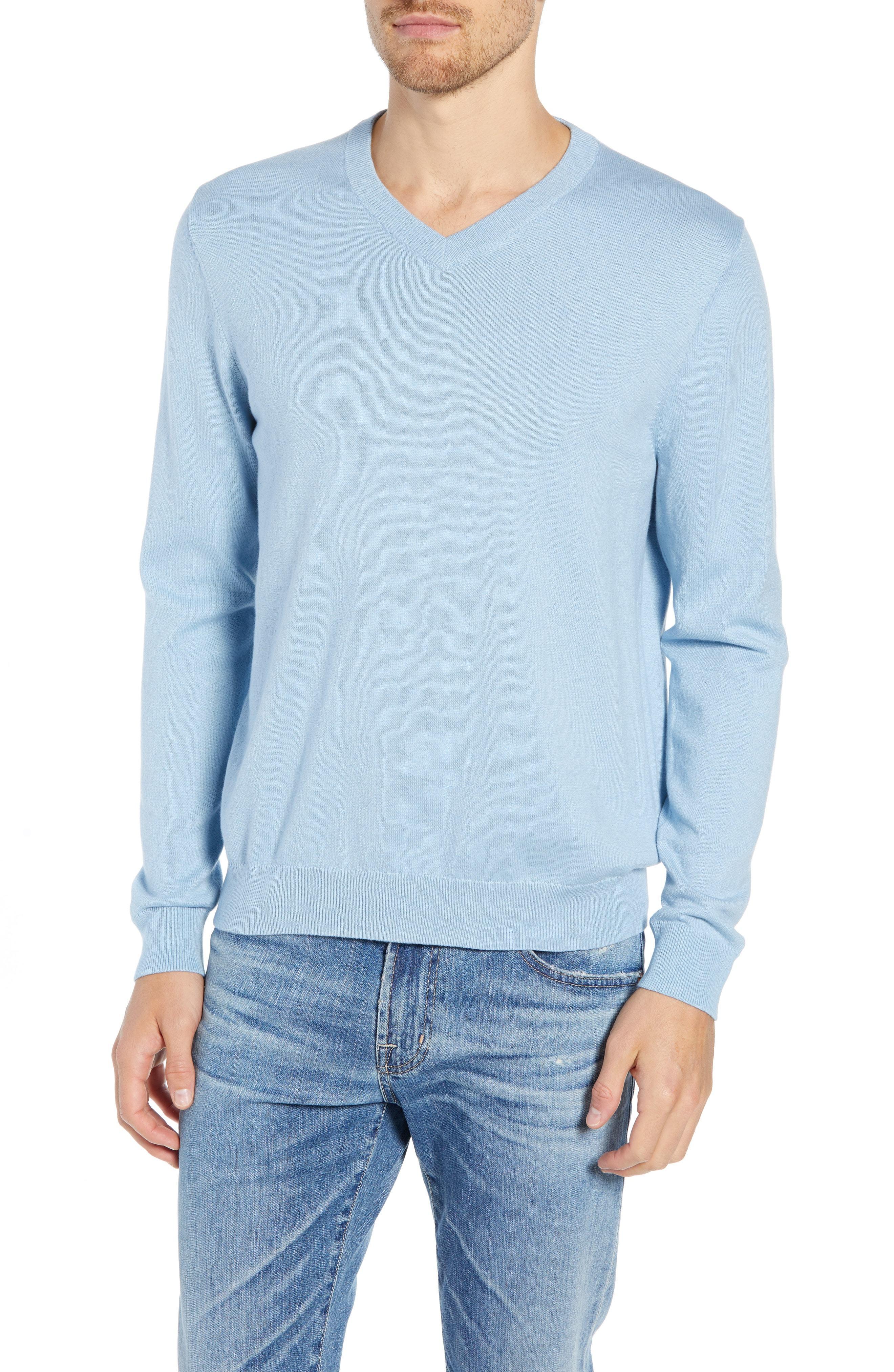 d3608389903f Nordstrom Men s Shop Cotton Cashmere V Neck Sweater