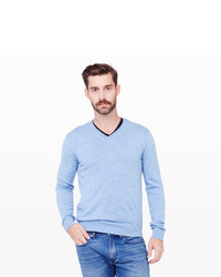 Men's Light Blue Sweaters from Club Monaco | Men's Fashion