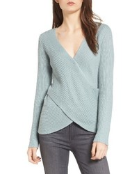 Cupcakes And Cashmere Nikolai Crossover Sweater