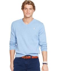 355769398 Polo Ralph Lauren Men s Light Blue Sweaters from Macy s