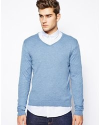 Selected Sweater With V Neck